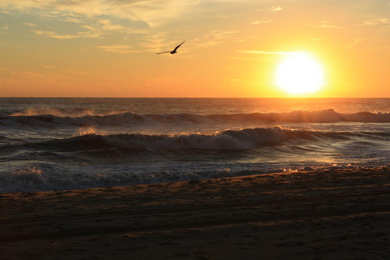 Sun Rise in Nags Head NC