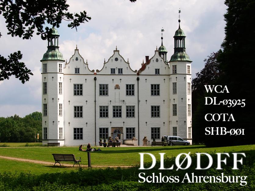 Ahrensburg castle COTA SHB-001 WCA DL-03925