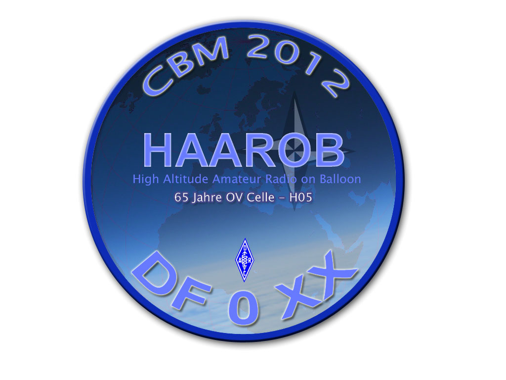 HAAROB 2012 - Balloonprojekt  - http://www.darc-celle.de