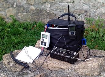 My portable equipment