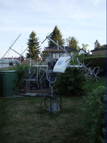 SAT Antenna HB9WDF