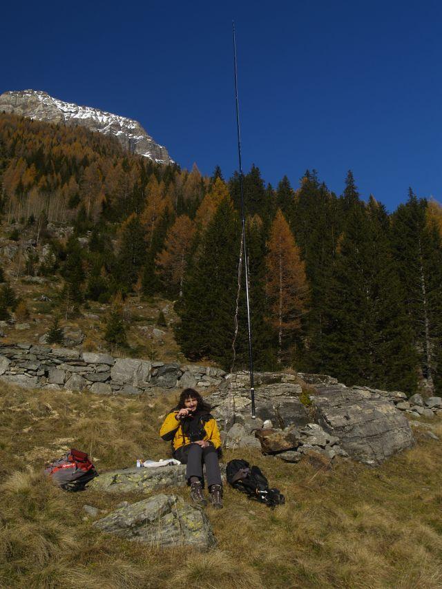 IZ2UUF, Mountain QRP on 40m
