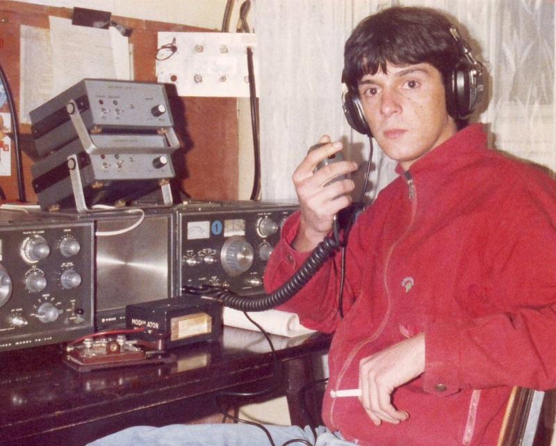 1980's - Radio Club YU4EFR