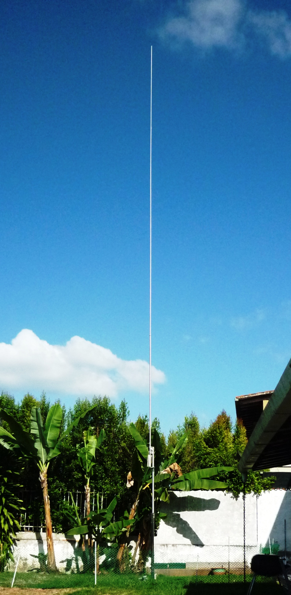 My new 80 mt Vertical