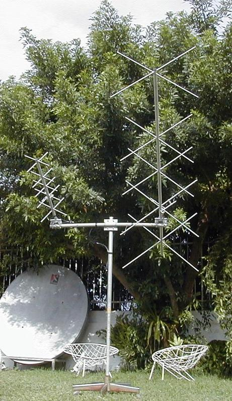 crossed yagi VHF / UHF