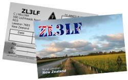 ZL3LF QSL Card.