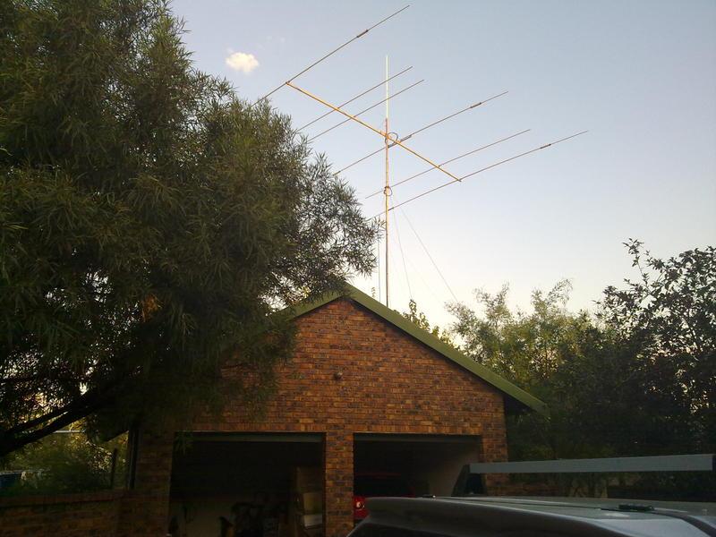 6 Element above my garage roof