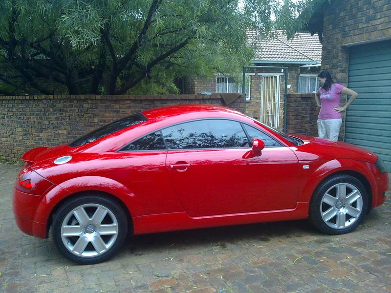 Grant's Audi TT