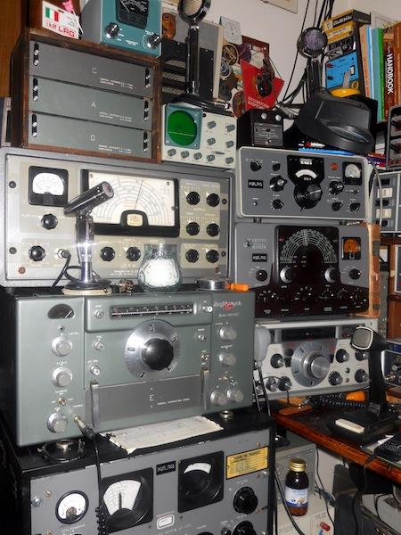 Geloso 222, HRO-50,  SP-600