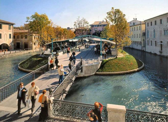 Treviso the area called