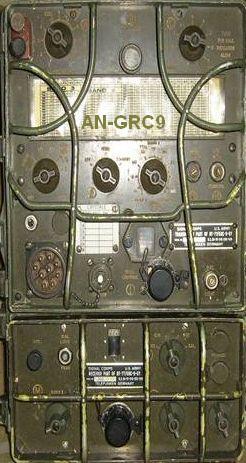 ANGRC-9 Nato Tranceiver 15 w - AM-CW  1.5-20 MHZ