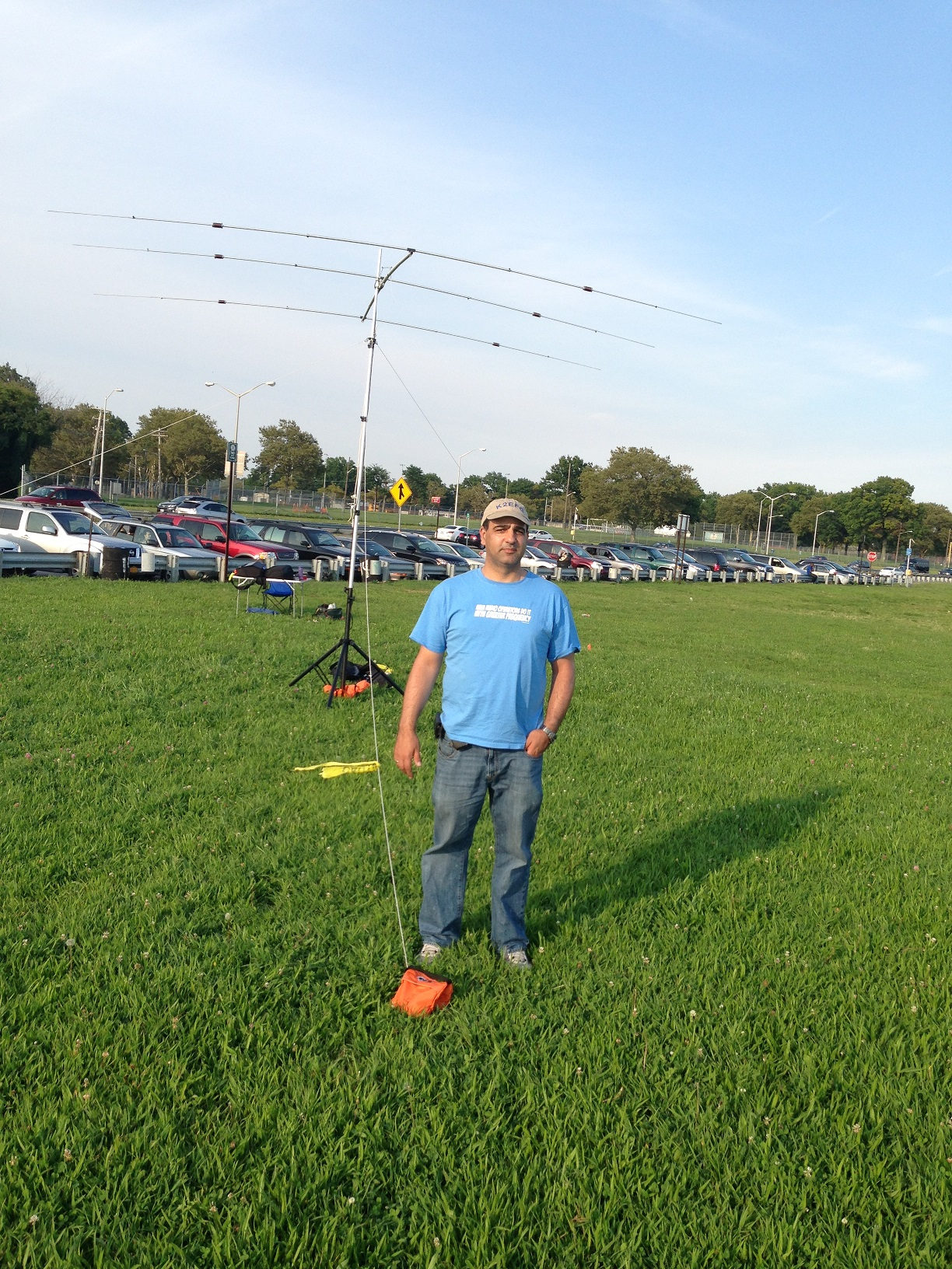 Belt parky, North America QSO Party 2013