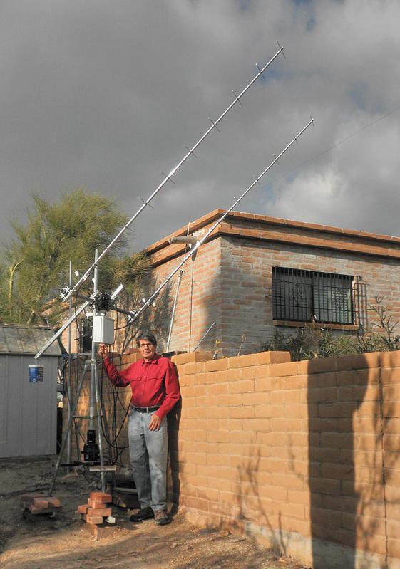 70 CM EME antennas