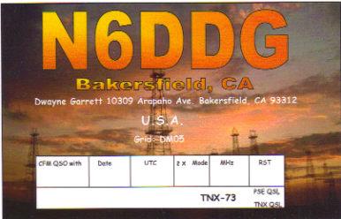 2010 / 2012 QSL Card