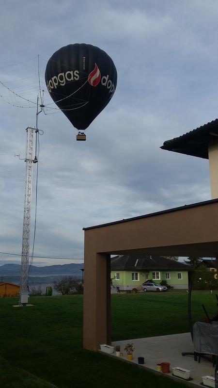Ballooning ;-)
