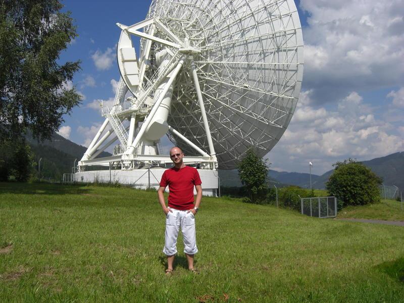 OE6MWG  @  Earth-Control-Center Aflenz (Telekom Austria)