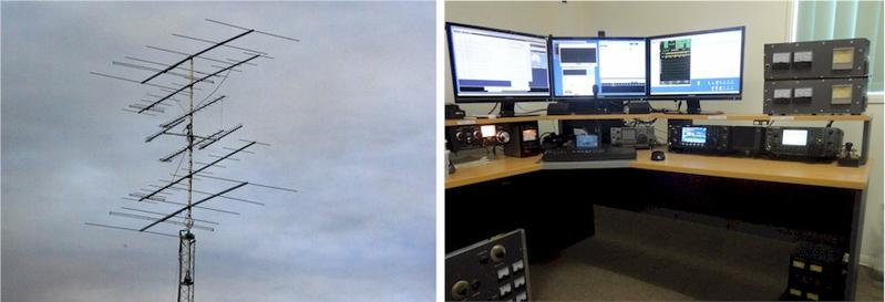 VK4AMG Aerials and Station