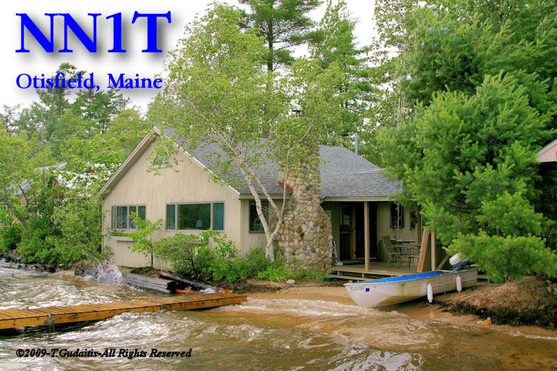Maine Camp Photo