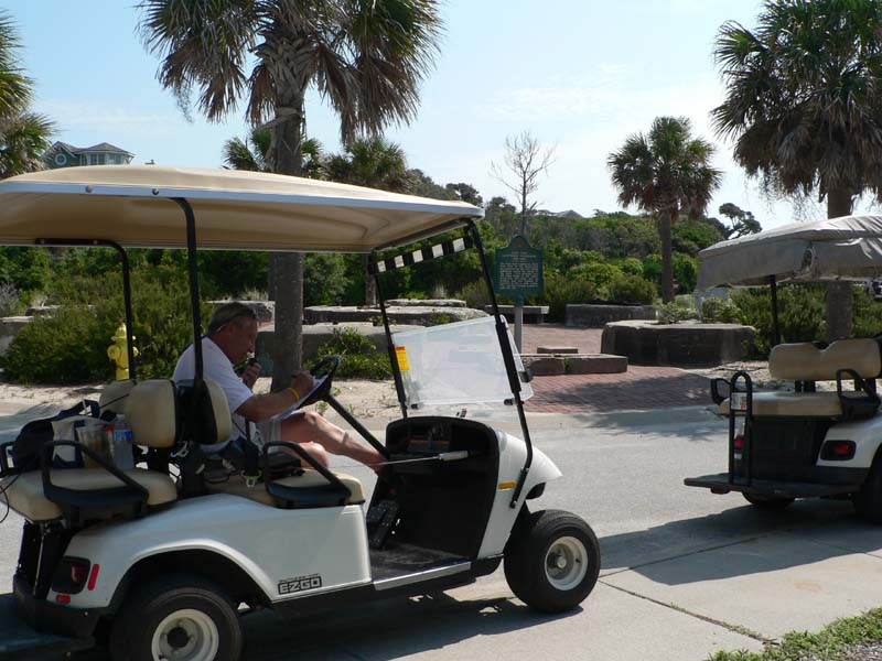 Here I am Golf Cart Mobile