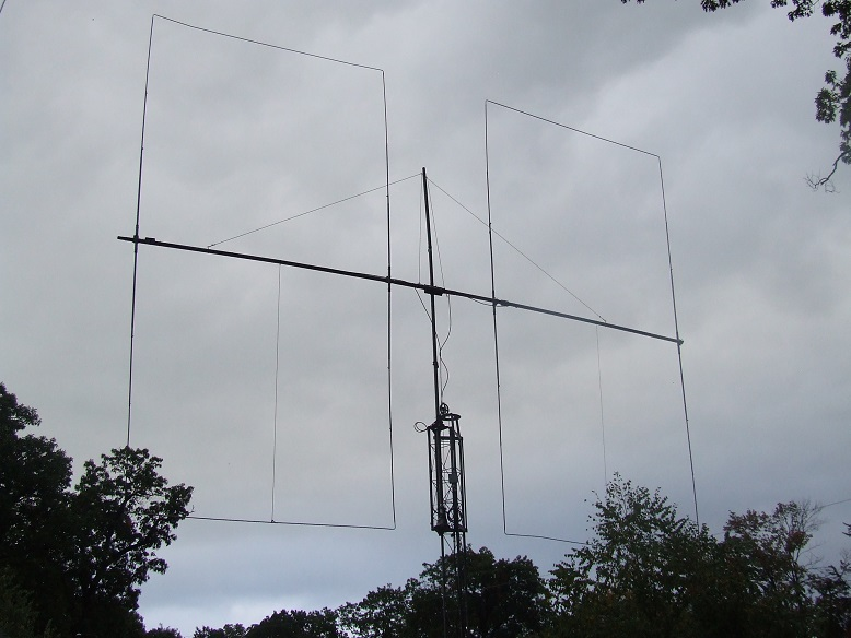 Waller Flag antenna low bands