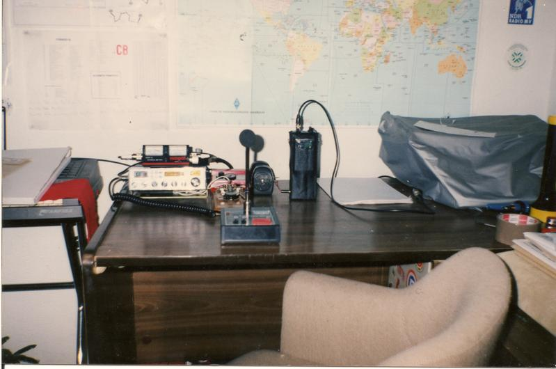 Radio Room in 1992