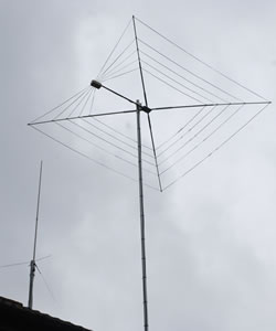 Cobweb and VHF/UHF Vertical