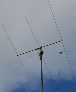 3 element 6m Yagi and 30m Dipole