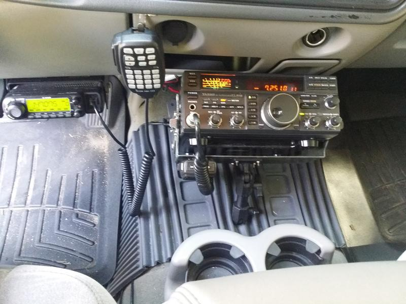 ICOM ID-880H and Yaesu FT-890