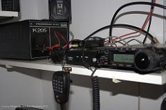 Setup with radio and powersupply