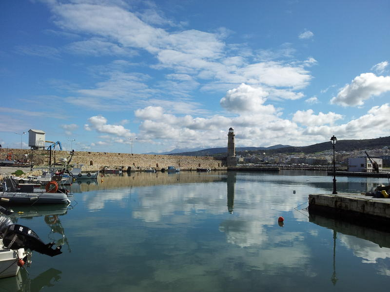 OLD PORT of RETHYMNO- CRETE Is.
