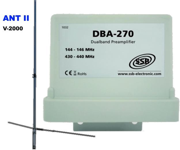 70Cm Dualband Preamp Diplexer 2M - Swdigital