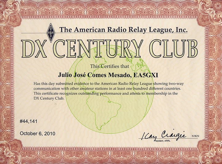 My first DXCC in mixed mode.