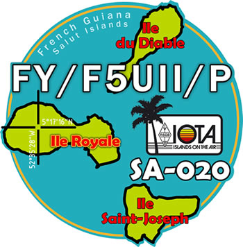 FY/F5UII/P on Royale Island IOTA -SA-020 - 26561