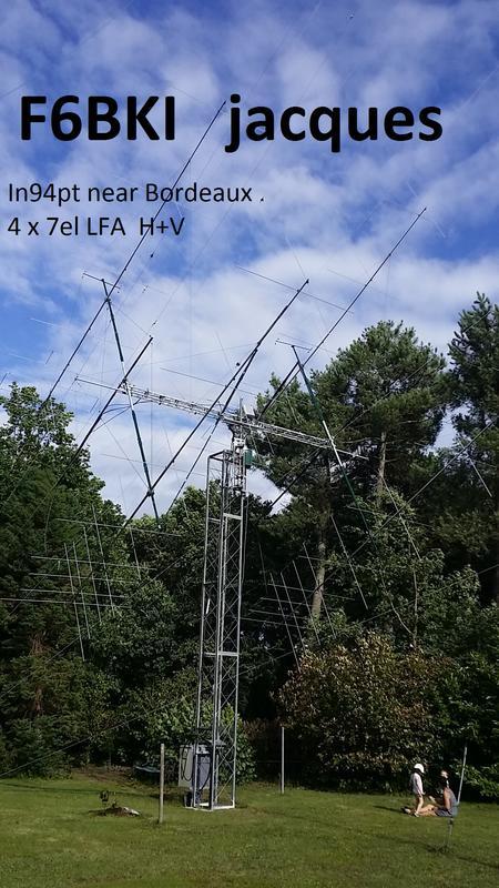 6m array at F6BKI