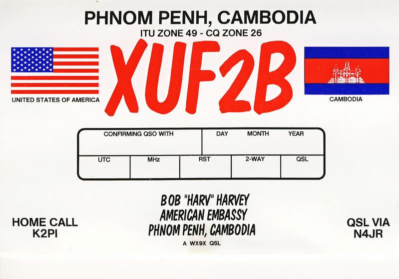 XU2FB QSL