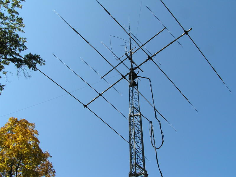 Antenna's for my station.