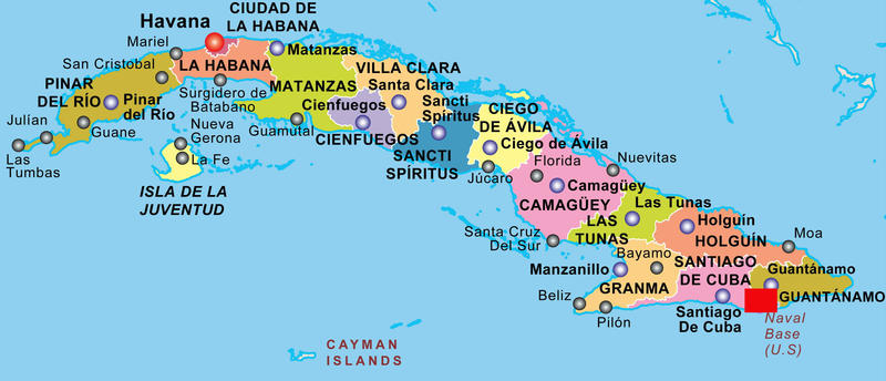 Epic image regarding printable map of cuba
