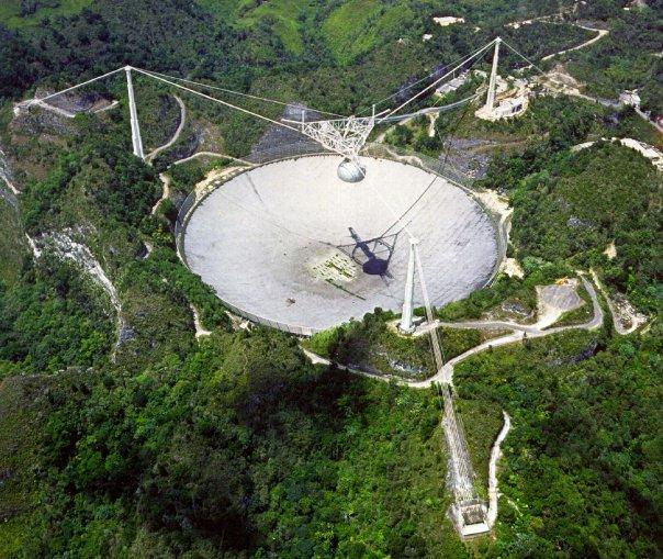 Observatrorio de Arecibo (Arecibo's Radio Telescope)