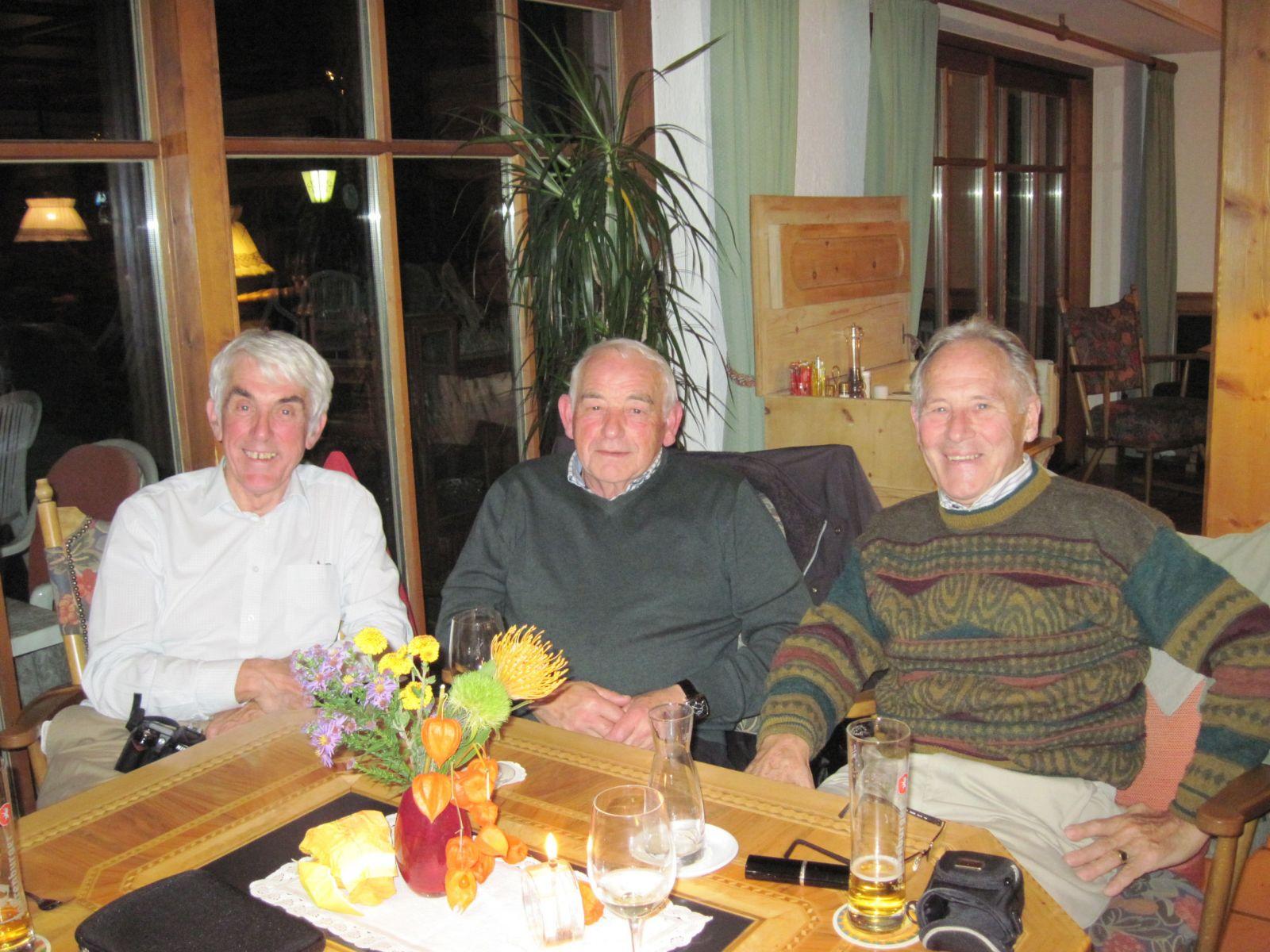 G3TXF (Nigel), OE9NFI ( Egon), OE9WGI (Walt)  Okt. 2013