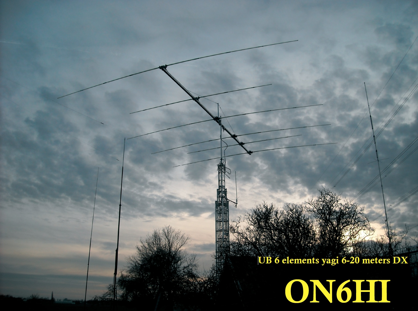 Ultrabeam 6 elements yagi 6-20m DX