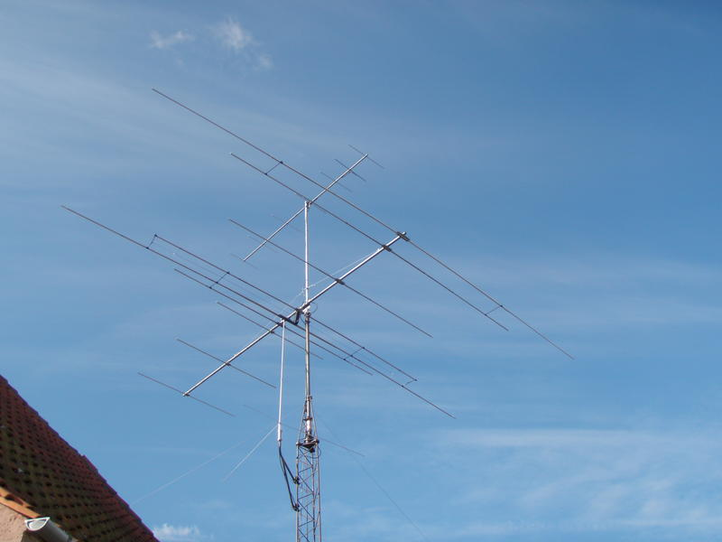 My antenna system from 2000 to 2012 - Open sleeve 20-6M