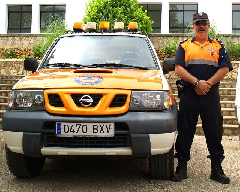 EB5HOJ in service, at Denia Civil Protection corps