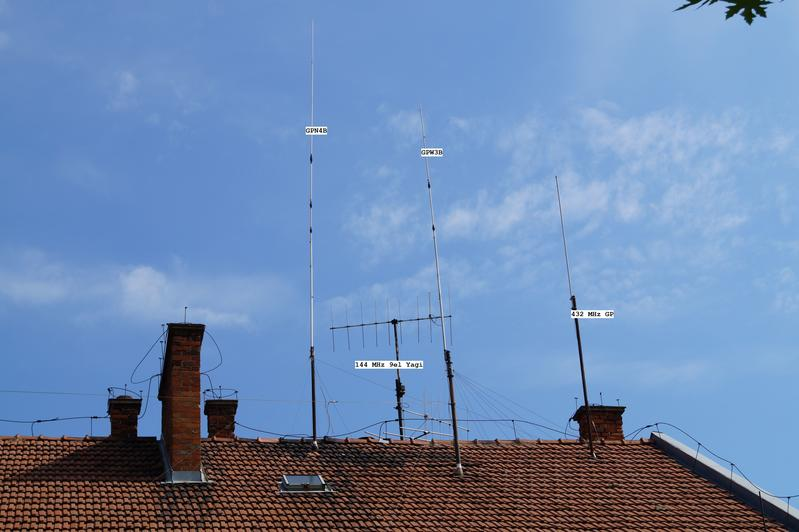 My GP antennas