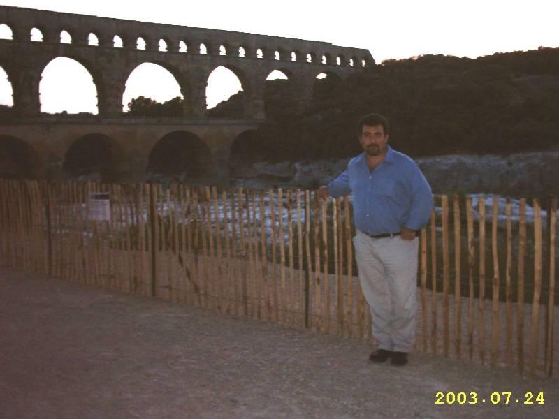 Roman Pont-De-Garde/Nimes/France