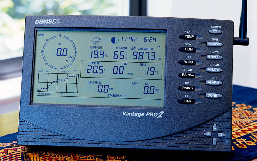Vantage pro 2 stations overview prodata weather systems.