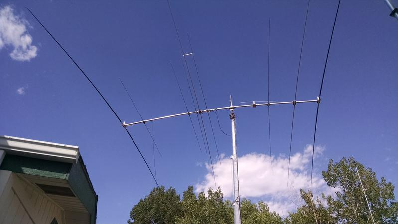 Home station FTDX5000MP,ALS600 to Force 12 modified yagi