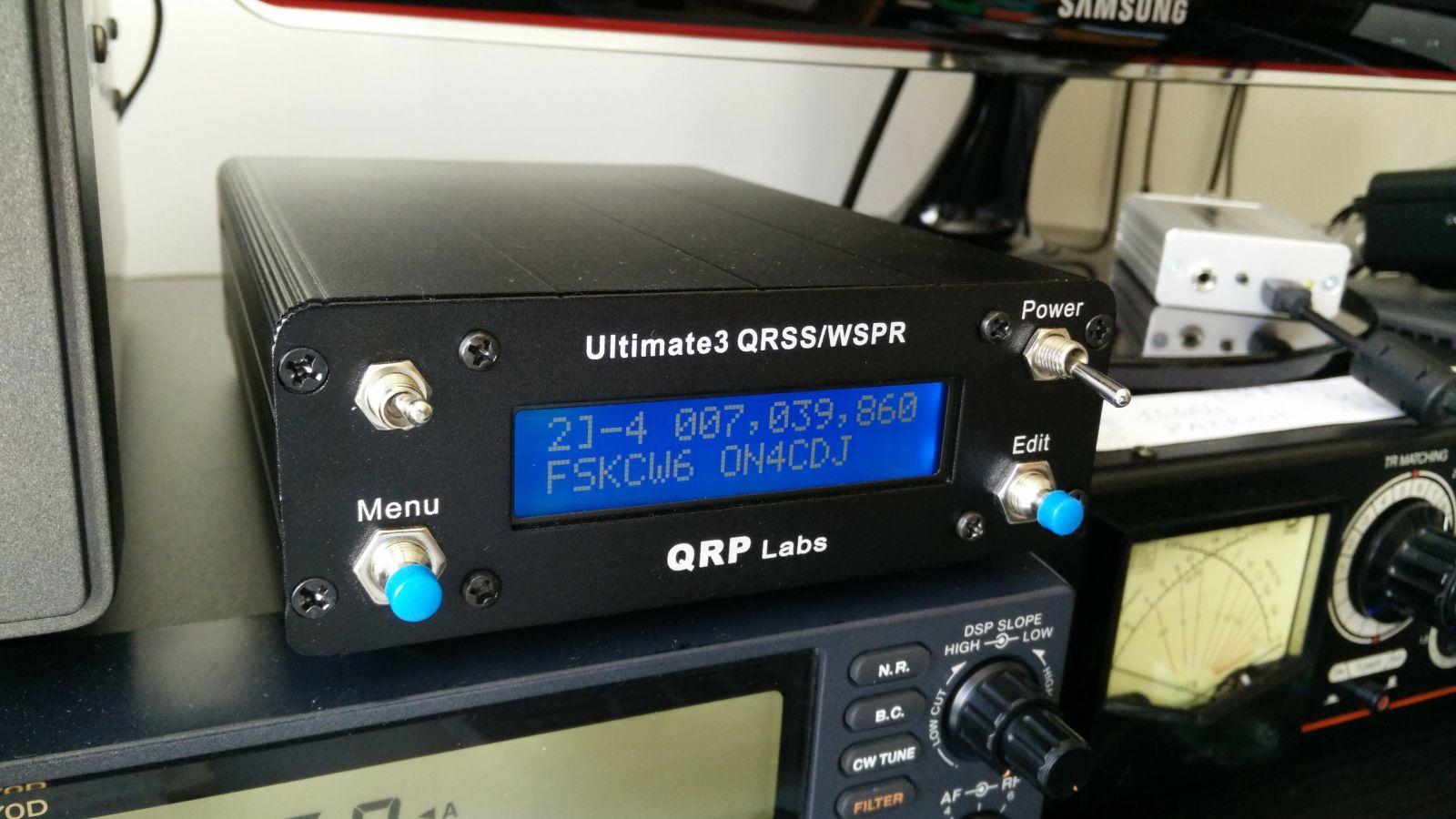 QRP-Labs QRSS/WSPR kit