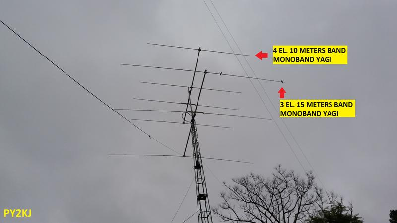 TOWER #1 - 10 AND 15 METERS BAND - PY2KJ