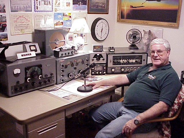 My old AM station under the W6MKA call.