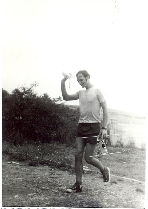 YO9APJ  - Fox hunter in 1971
